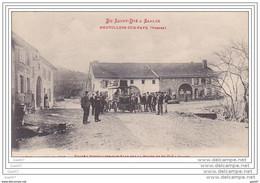 Cpa  Réf-JP-R-395 (  Dép-88 )   Halte à NEUVILLERS-SUR-FAVE Sur La Route De St-DIE à SAALES - Sonstige Gemeinden