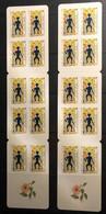Lot Carnets : C645, C652, C654, C657, C792 Par 2 Exemplaires - Boekjes