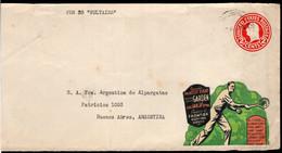 USA - Lettre - Devant - Circa 1920 - Enveloppe Décorée De Carte Postale De Thème De Tennis - A1RR2 - Tennis