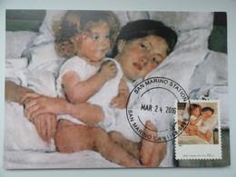 CARTE MAXIMUM CARD MARY CASSATT BREAKFAST IN BED ETATS UNIS - Non Classés