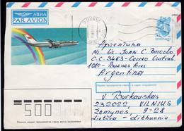 URSS - 1991 - Lettre - Par Avion - Envoyé En Argentina - A1RR2 - Brieven En Documenten