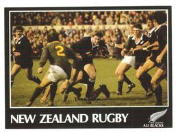 Nouvelle-Zélande Christchurch Lancaster Park Springboks Stu Wilson Carte Postale Postcard All Blacks - Rugby