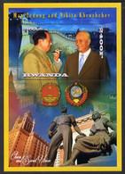 2013 Mao Tse-tung & Nakita Khrushchev Perf Deluxe Sheet Containing 1 Value U/M - Mao Tse-Tung