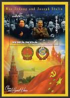 2013 Mao Tse-tung & Joseph Stalin Perf Deluxe Sheet Containing 1 Value U/M - Mao Tse-Tung