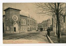 Ref 201 - TOULOUSE - Entrée De La Rue Du Languedoc Et Temple Protestant (1912) - Toulouse