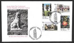Cyprus (Turkish Posts) 1996 Tourism Illustrated FDC - Storia Postale