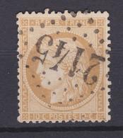 France N° 36 : Oblitéré 2145 Gros Chiffres - 1870 Siège De Paris
