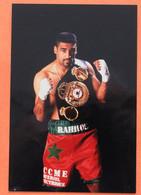 BOXE : Khalid Rahilou , Champion Du Monde, Il S'agit D'une Photo 10 X 15 - Pugilato