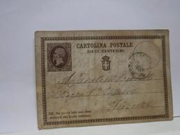 SIENA  E PROV. -- ANNULLO -TONDO -RIQUADRATO -FRAZIONALE -MONTEPULCIANO  - 8-5-1876 - Storia Postale