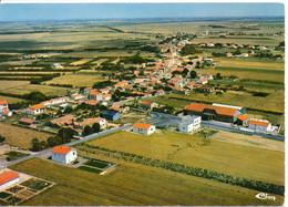17 CHARRON CPSM  Vue Aérienne Sur Bourg Chapon - Andere Gemeenten