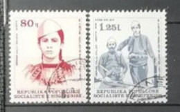 Albanie 1977 / Yvert N°1709-1710 / Used - Albanië