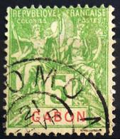 GABON                         N° 19                    OBLITERE - Used Stamps