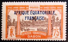GABON                         N° 104                    NEUF* - Unused Stamps