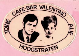 Sticker - TOINE - CAFE-BAR VALENTINO - ALIE - HOOGSTRATEN - Adesivi