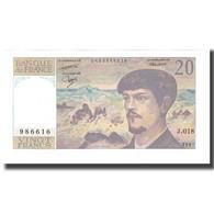 France, 20 Francs, 1987, STROHL FERMAN DENTAUD, NEUF, Fayette:66.08, KM:151b - 20 F 1980-1997 ''Debussy''