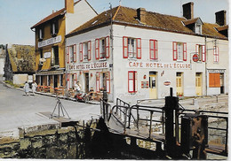 CPSM - (45) -CEPOY- PLACE DE L ECLUSE- CAFE ET HOTEL DE L ECLUSE- CIM E.C.I 253 - Otros Municipios
