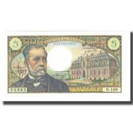 France, 5 Francs, 1969, R.Tondu-P.Gargam-H.Morant, 1969-06-05, NEUF - 5 F 1966-1970 ''Pasteur''