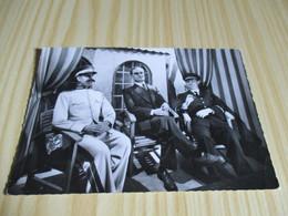 L'Aigle (61).Musée De Cires Parlant - 3e Scène : Staline, Roosevelt Et Churchill à L'issue De La Conférence De Téhéran. - L'Aigle