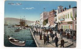 TURQUIE - SMYRNE - Les Quais - Animée (X104) - Turquia