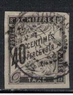 EMISSIONS GENERALES       N°  YVERT    TAXE 10     (Oblitération SAINT PIERRE ET MIQUELO  ) OBLITERE       ( O   9/ 42 ) - Postage Due