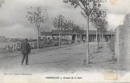 34)     MARSEILLAN   - Avenue De La Gare - Marseillan