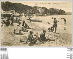 06 JUAN-LES-PINS. Plage Et Pinède 1931 - Juan-les-Pins