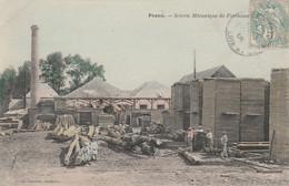 41---PEZOU--SCIERIE MECANIQUE--COLOREE--VOIR SCANNER - Andere Gemeenten