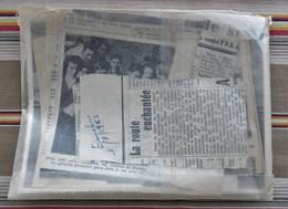 LOT 52 JOINVILLE 4 Photos D Ecole + Articles De Journaux 1956 A 1963 STUDIO DUREY - Lugares