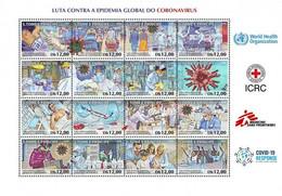 XB1537 Sao Tome And Principe 2020 Anti-Coronavirus COVID-19 S/SMNH - Ziekte
