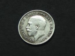 3 Pence 1919  Georges  V  - Great Britain - Grande Bretagne  ***** EN ACHAT IMMEDIAT ***** - F. 3 Pence
