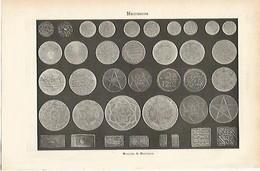 LAMINA ESPASA 1106: Monedas De Marruecos - Sin Clasificación