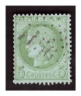 Timbre N° 53 Obl GC 1156 COUCOURON  (ind 14 ) - 1871-1875 Cérès