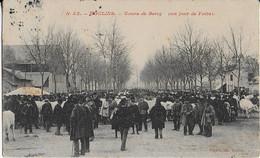 MOULINS  : Cours De Bercy - Un Jour De Foire (1909 ) - Moulins