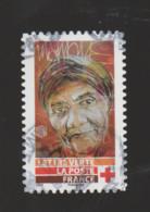 "FRANCE / 2019 / Y&T N° AA 1719 : ""Croix-Rouge"" (Visages : Avec Fichu) - Choisi - Cachet Rond - Adhesive Stamps"