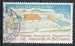 Nouvelle Calédonie - Neukaledonien - New Caledonia 1989 Y&T N°584 - Michel N°862 (o) - 100f Sauvegarde Du Patrimoine - Used Stamps