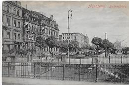 Mannheim. Bahnhofplatz. - Mannheim