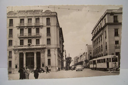 TUNIS   - Avenue  Roustan  -  Tram  - ( Pas De Reflet Sur L'original ) - Tunisia