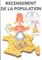 N° 2202 Recensement Sans Le Chiffre 7 - 1980-89