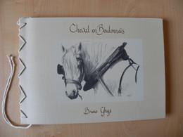 Cheval Boulonnais Par Bruno Ghys - Exemplaire N° 131 / 300  Signé De L'auteur - Picardie - Nord-Pas-de-Calais