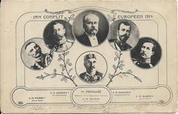 Personnage Politique.Raymond Poincaré.Georges V.NICOLAS II - Persönlichkeiten