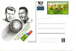 TCHEQUIE. Carte Pré-timbrée De 2013. Finale Avec Pelé. - 1962 – Chili