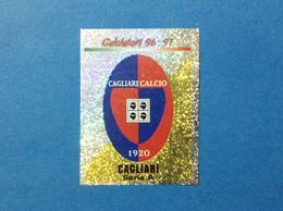 FIGURINA CALCIATORI PANINI 1996 97 N 76 SCUDETTO CAGLIARI CALCIO - Italian Edition