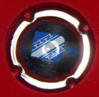 00 546 - Capsule - Plaque De Muselet - Générique - Champagne - Ecusson - N°461x-NR Métal, Ecusson Bleu, Etoile - Otros