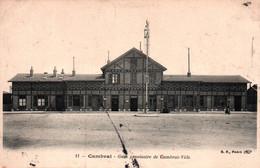 59 / Cambrai Gare Provisoire De Cambrai-Ville - Cambrai