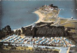 44-QUIMIAC-PLAGE- CAMPING DU G.C.U LA POINTE DE MERQUEL- VUE AERIENNE - Andere Gemeenten