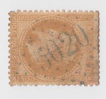 LAURÉ 10c. N° 28. GC BLEU 5020. PALESTRO OU CHERAGAS. ALGER - 1849-1876: Klassik