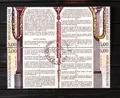 France 1989 - Bloc Bicentenaire De La Révolution N° 2596-2597-2598-2599 - Used Stamps