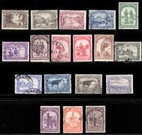 Congo 0126/47 (o) Palmiers Et Sujets Divers - 1923-44: Used
