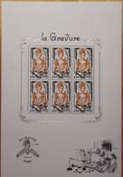 """FRANCE 2020 BLOC FEUILLET """"LA GRAVURE"""" - OBLITERE 1er JOUR 26.06.2020 - Gebraucht"""
