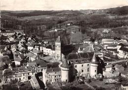 46-LACAPELLE-MARIVAL- L'EGLISE ET LE CHATEAU VUE AERIENNE - Lacapelle Marival